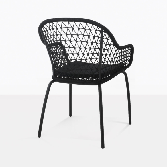 Libby Outdoor Dining Chair Back