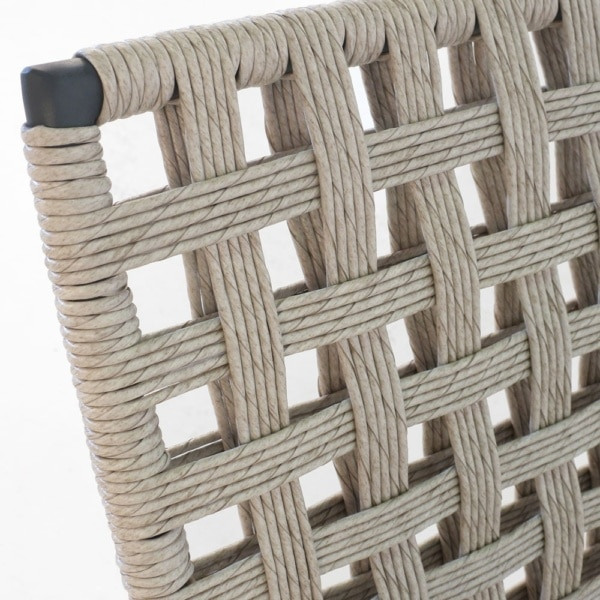 Mayo Natural Wicker Chair Closeup