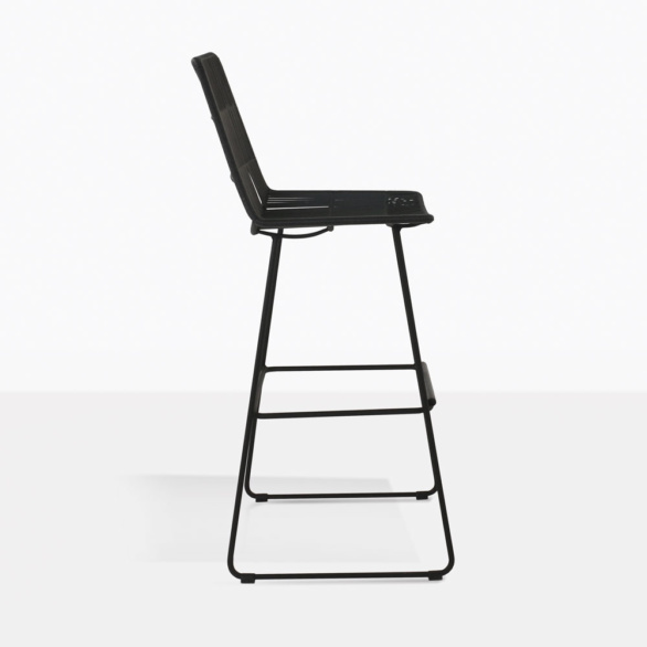 Nairobi Bar Stool Black Bar Stools Teak Warehouse