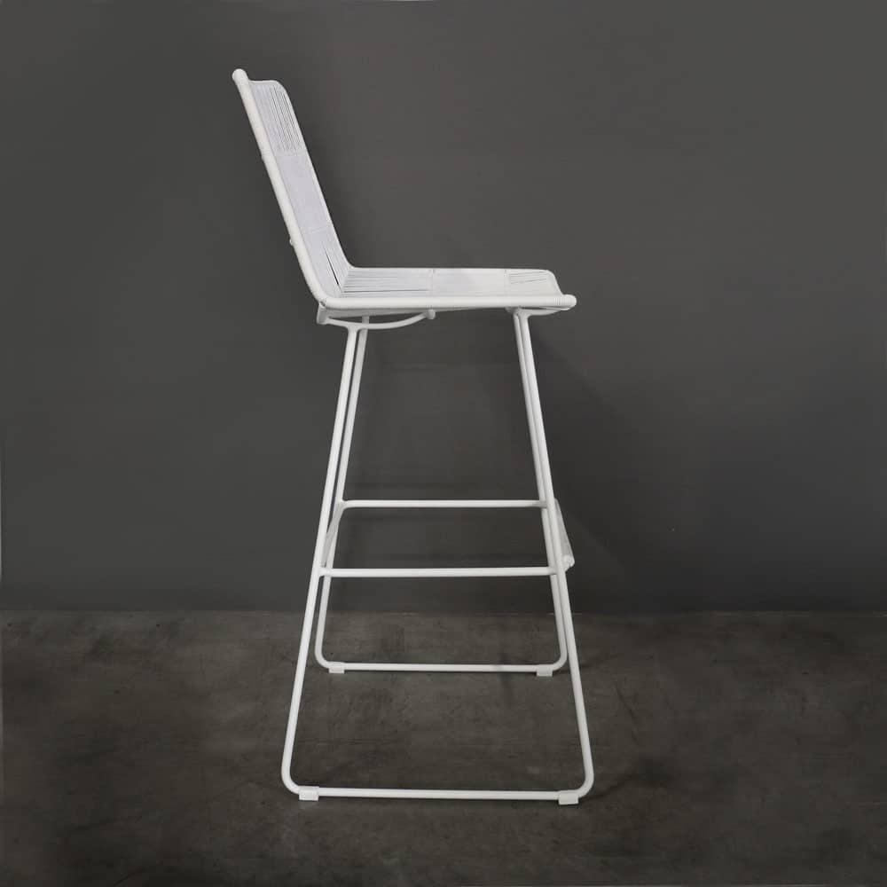 Nairobi Barstool White Bar Furniture Teak Warehouse