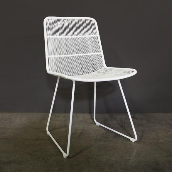 Nairobi String Dining Chair in White