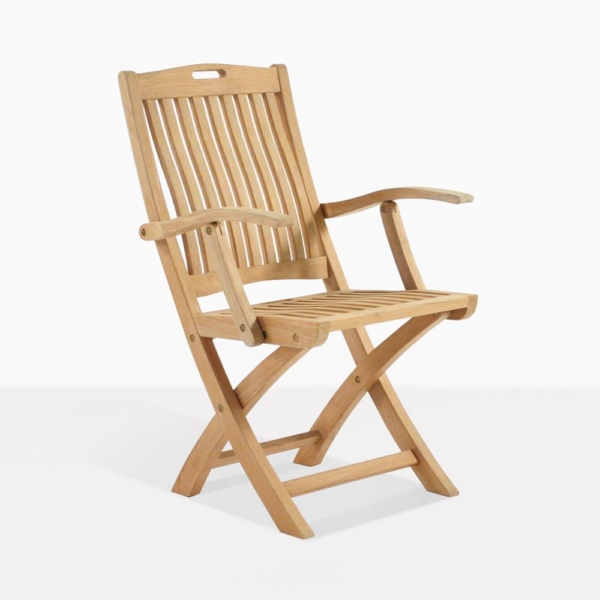 Oxford Folding Teak Outdoor Dining Chair