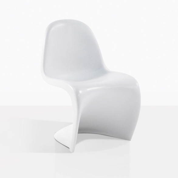 S Chair White Dining Chair