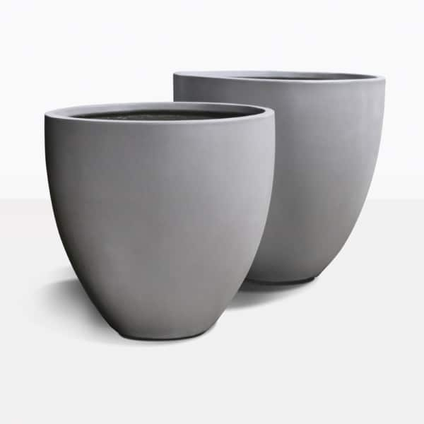 Sienna Concrete Flower Pots