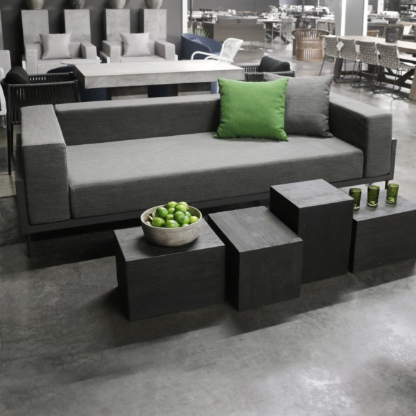 Kobii charcoal sofa