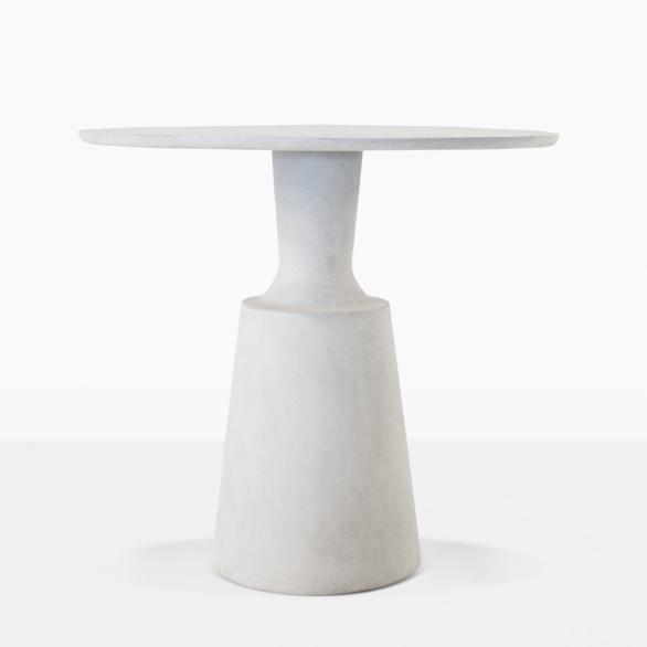 Nicki Round Concrete Dining Table