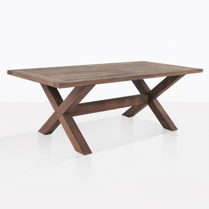 Alfresco Cross Leg Dining Table