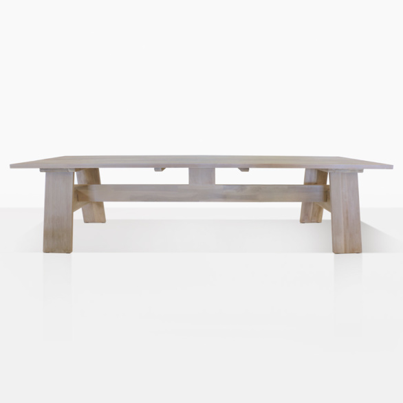 Bradford Teak Outdoor Rectangle Dining Table