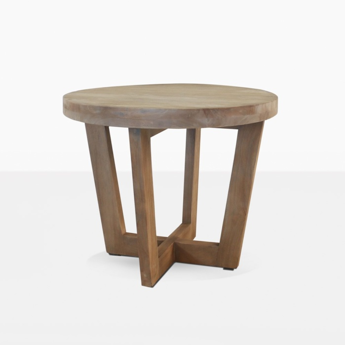 Coco Teak Round Side Table