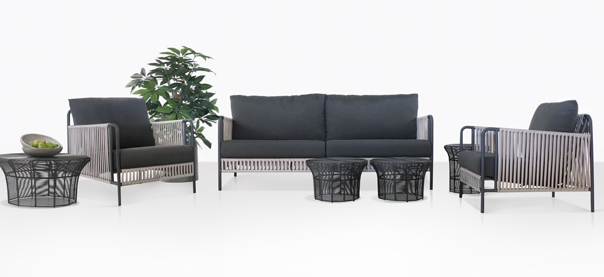 Fontana Outdoor Rope Seating Collection