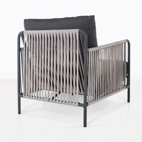 Fontana Rope Club Chair Back