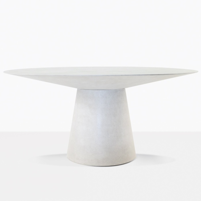 Holly Grey Round Outdoor Dining Table