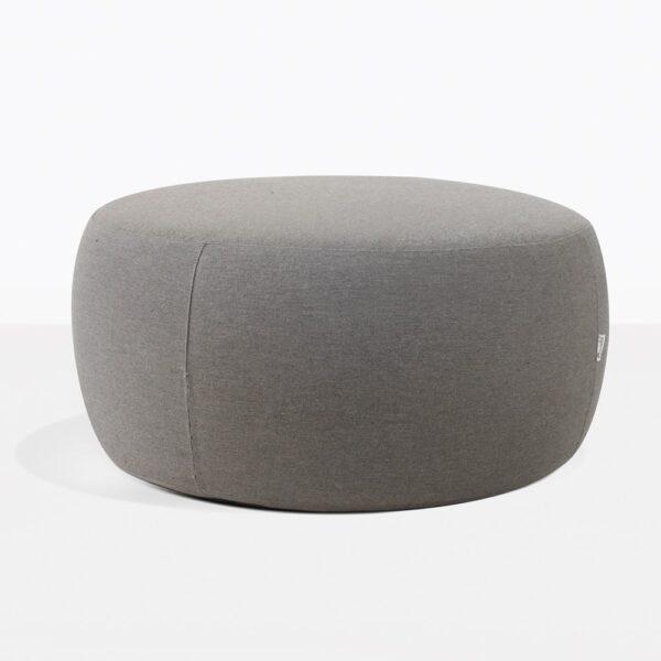 Fabulous Jelli Round Outdoor Ottoman Granite Ibusinesslaw Wood Chair Design Ideas Ibusinesslaworg
