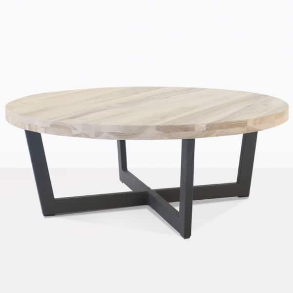 Jimmy Teak and Aluminum Coffee Table