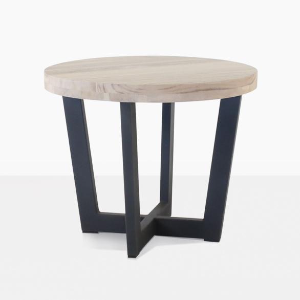 Jimmy Round Teak Side Table