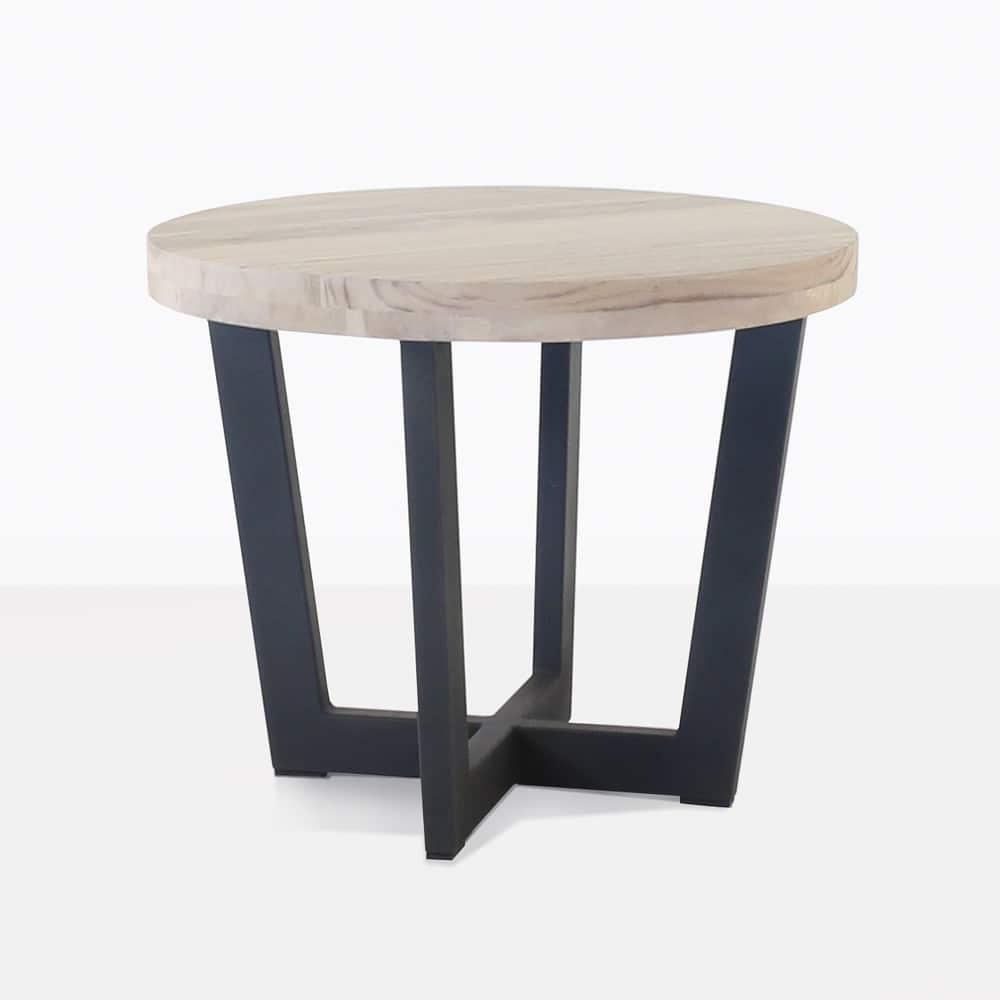 Jimmy Teak Outdoor Side Table Patio Furniture Teak