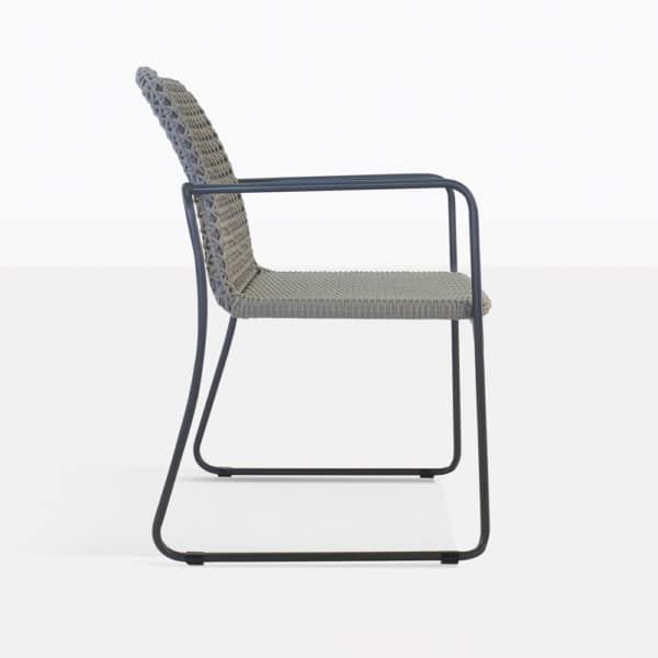 Kelli Rope Dining Chair Side