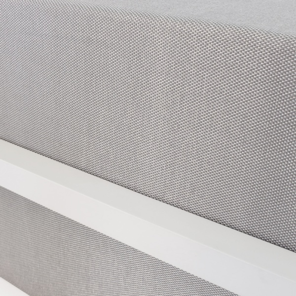 Kobii Grey Sofa Cushion With White Frame