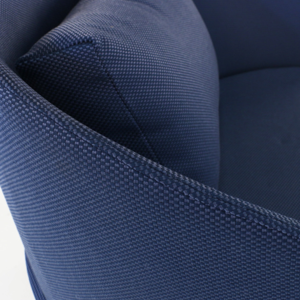 Kobii Royal Blue Chair Closeup