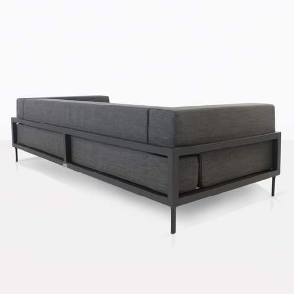 Kobii Coal Outdoor Sofa Back