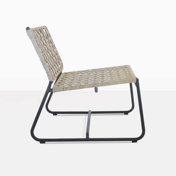 Mayo Outdoor Chair Side View