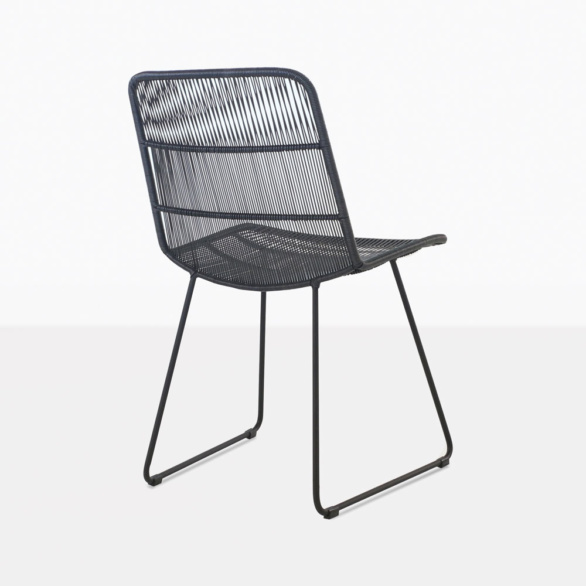 Nairobi Woven Dining Side Chair Back