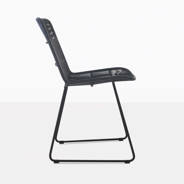 Nairobi Black Woven Dining Chair