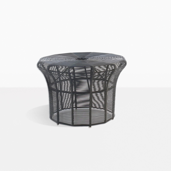 Poppi Outdoor Wicker Small Side Table