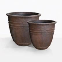 Lotus Concrete Pots