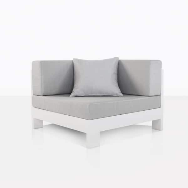 Coast Aluminum Sectional Corner Chair