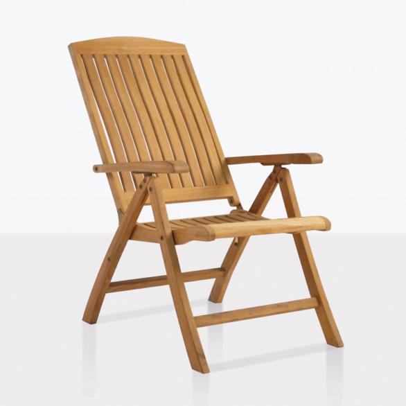 Dorset Teak Relaxing Amr Chair Reclined