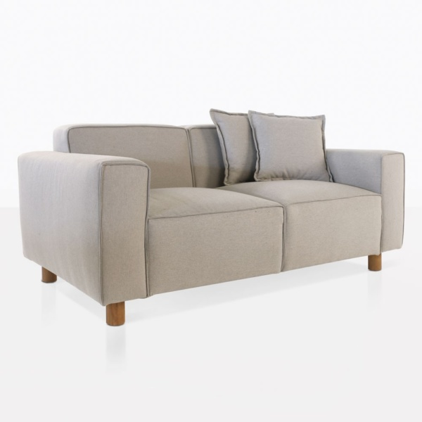 James Upholstered Outdoor Loveseat