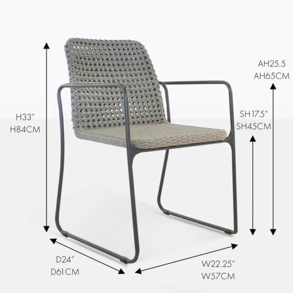 Kelli Rope Dining Chair