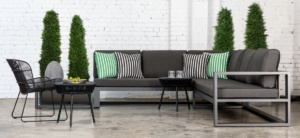Mykonos Aluminum Outdoor Furniture Collection