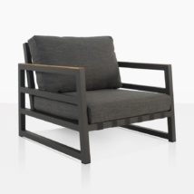 Westside Outdoor Lounge Chair With Cushions