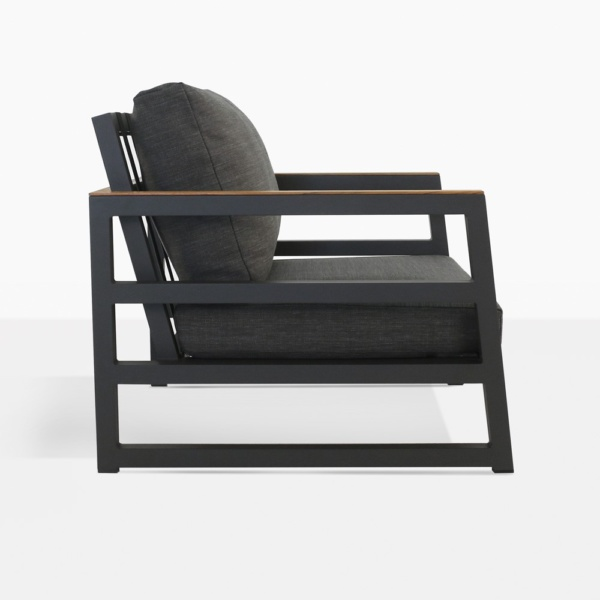 Westside Charcoal Outdoor Chair