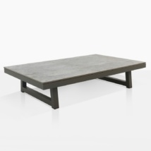 Westside Outdoor Coffee Table Angle