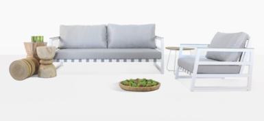 Westside White And Grey Furniture Collection