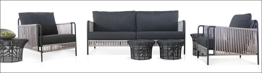 Fontana Outdoor Sofa and Deep Seating Collection