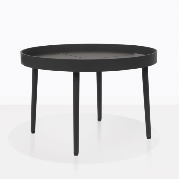 Moon Outdoor Coffee Table With Tray