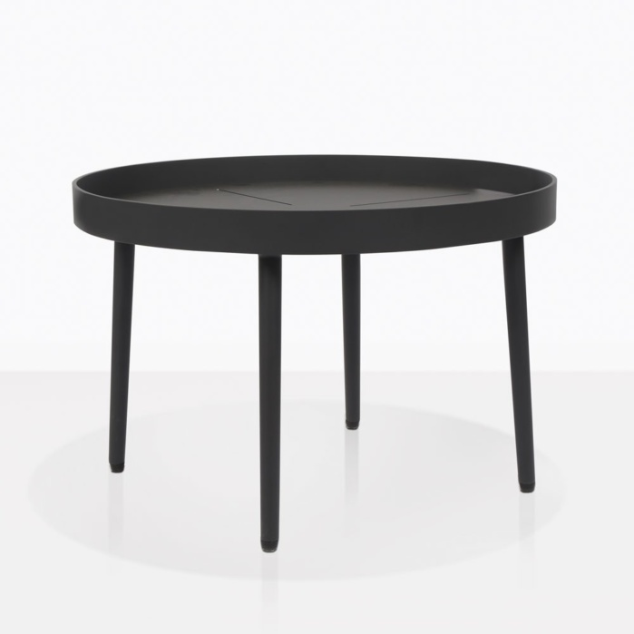 Low Round Teak Coffee Table: Sunn Outdoor Coffee Table (Low)