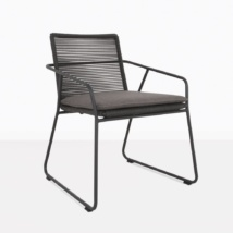 Pierre Rope And Aluminum Dining Chair