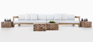 Coast A-Grade Teak Sectional Sofa