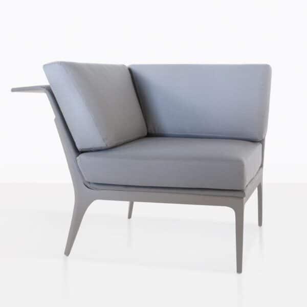 Marsala Sectional Corner Chair Angle