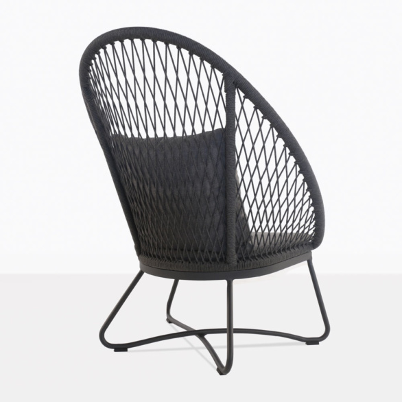 Zaha High Back Woven Relaxing Chair
