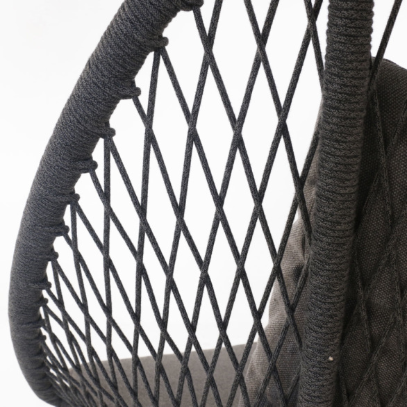 Zaha Rope Chair Closeup