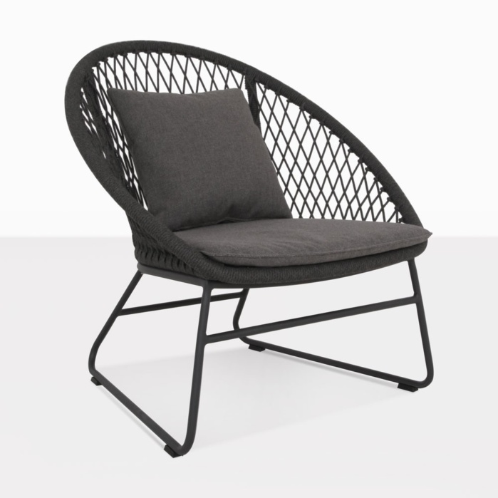 Zaha Outdoor Relaxing Chair with Cushions