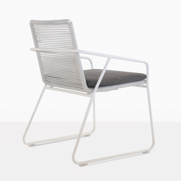 Pierre Outdoor Dining Chair Side
