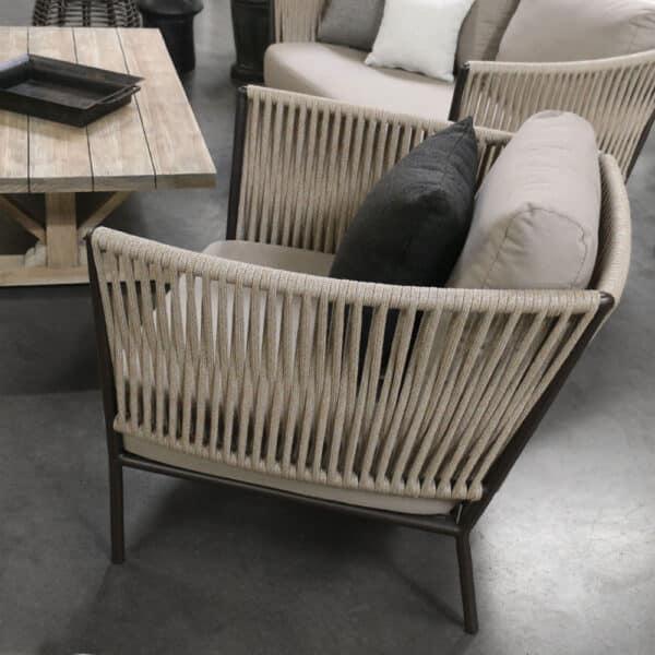 Tessa Outdoor Relaxing Chair In Showroom