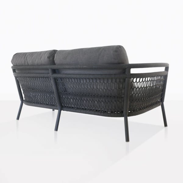 Usso Outdoor Lovseseat Back View
